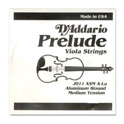 "D'Addario Prelude Viola Strings SET, short (under 15"")"